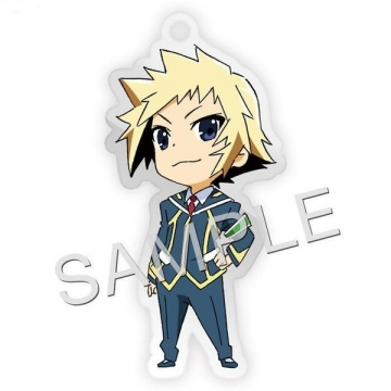 main photo of Medaka Box Fastener Charm Collection: Hitoyoshi Zenkichi