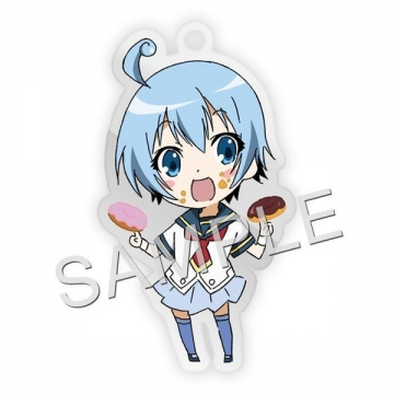 main photo of Medaka Box Fastener Charm Collection: Shiranui Hansode