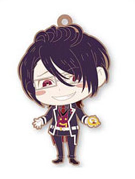 main photo of DiaboliK Lovers Trading Rubber Strap: Sakamaki Reiji
