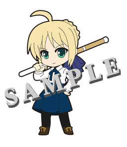 main photo of Pic-Lil! Fate/Saber Trading Strap: Saber Casual ver.