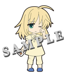 main photo of Pic-Lil! Fate/Saber Trading Strap: Saber Pajama ver.