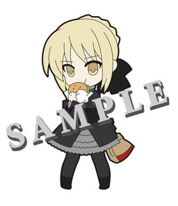 main photo of Pic-Lil! Fate/Saber Trading Strap: Saber Alter
