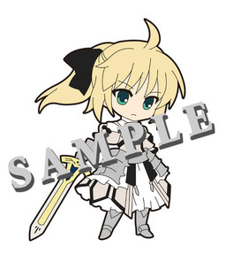 main photo of Pic-Lil! Fate/Saber Trading Strap: Saber Lily