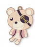 photo of DiaboliK Lovers Trading Rubber Strap: Kuma
