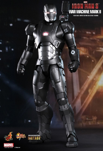 main photo of Movie Masterpiece Diecast: Iron Man 3 War Machine Mark 2