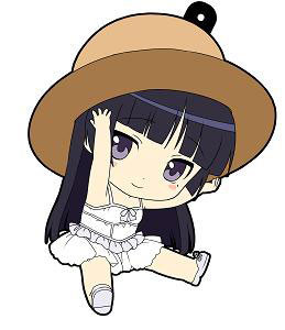 main photo of Oreimo Petanko Trading Rubber Strap Vol.1: Gokou Ruri Gokou Ruri