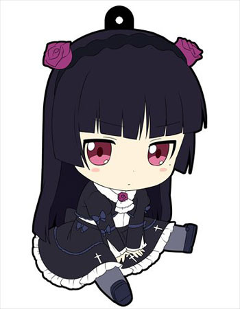 main photo of Oreimo Petanko Trading Rubber Strap Vol.3: Gokou Ruri