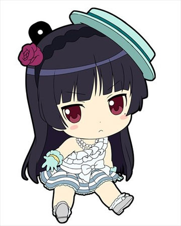main photo of Oreimo Petanko Trading Rubber Strap Vol.3: Gokou Ruri ClariS costume ver.