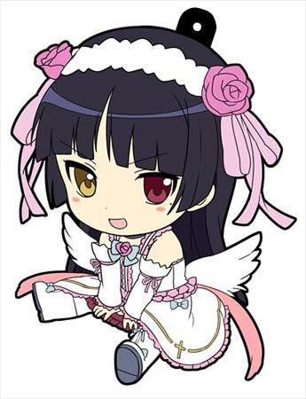 main photo of Oreimo Petanko Trading Rubber Strap Vol.3: Gokou Ruri Holy Angel Kamineko