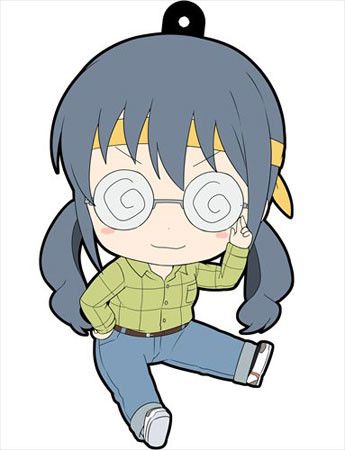 main photo of Oreimo Petanko Trading Rubber Strap Vol.3: Makishima Saori