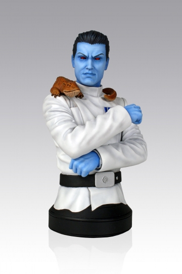 main photo of Star Wars Mini Bust: Grand Admiral Thrawn