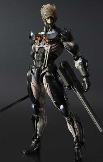 main photo of Play Arts Kai Raiden Yellow Armour Ver.