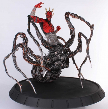 main photo of Star Wars Statue Darth Maul Spider
