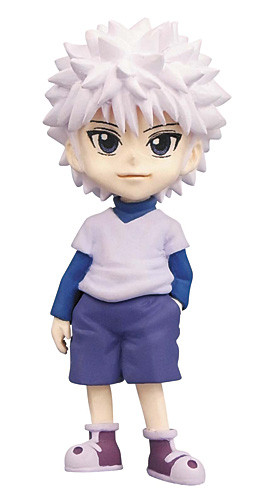 main photo of J Stars World Collectable Figure vol.3: Killua Zoldyck