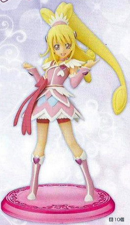 main photo of Precure DXF Figure Cure Heart ver.B