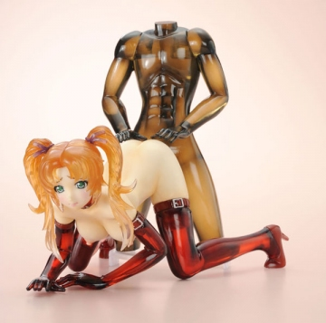 main photo of GIGA Pulse Figure Collection 10th Anniversary ver. Sandy Gregor DX Edition Anniversary Ver. Color (Clear)
