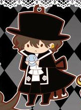 main photo of Pandora Hearts Rubber Strap: Gilbert