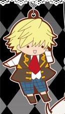 main photo of Pandora Hearts Rubber Strap: Oz