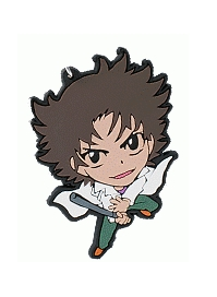 main photo of Zettai Karen Children Rubber Strap: Sakaki Shuuji