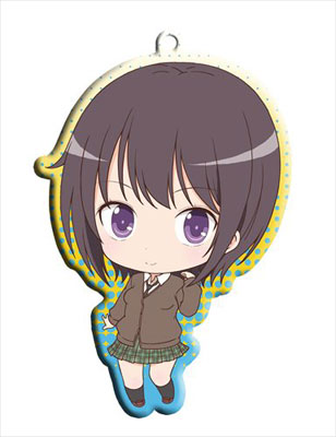 main photo of Haganai NEXT Trading Metal Charm Strap: Mikazuki Yozora