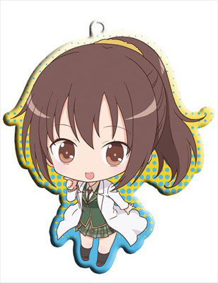 main photo of Haganai NEXT Trading Metal Charm Strap: Shiguma Rika
