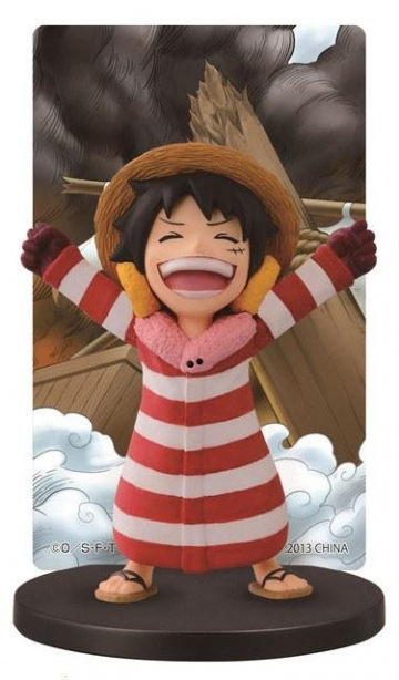 main photo of Ichiban Kuji One Piece ~Punk Hazard Hen~: Monkey D. Luffy Card Stand Figure