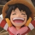 Ichiban Kuji One Piece ~Punk Hazard Hen~: Monkey D. Luffy Card Stand Figure
