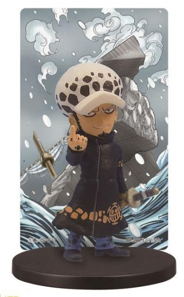 main photo of Ichiban Kuji One Piece ~Punk Hazard Hen~: Trafalgar Law Card Stand Figure