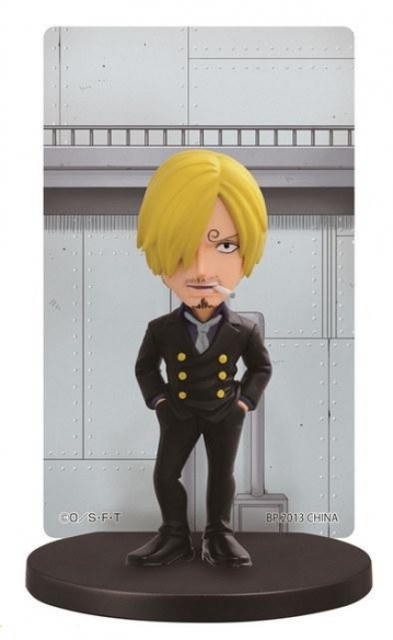 main photo of Ichiban Kuji One Piece ~Punk Hazard Hen~: Sanji Card Stand Figure