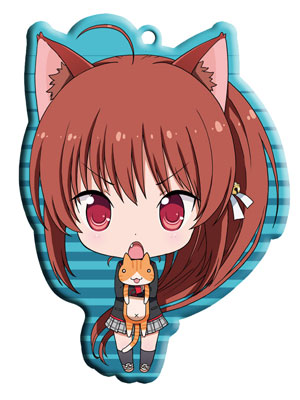 main photo of Little Busters! Trading Metal Charm Strap: Natsume Rin