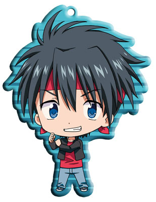 main photo of Little Busters! Trading Metal Charm Strap: Inohara Masato