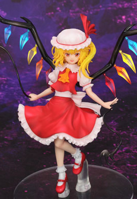 main photo of Touhou Project Mini Series Sister of the Devil Flandre Scarlet
