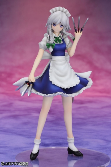 main photo of Touhou Project Mini Series Maid of the Scarlet Devil Mansion Izayoi Sakuya