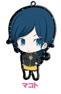 main photo of Devil Survivor2 the Animation Trading Metal Charm Strap: Sako Makoto