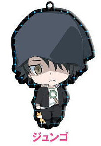 main photo of Devil Survivor2 the Animation Trading Metal Charm Strap: Torii Jungo