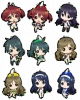 photo of Vividred Operation Trading Metal Charm Strap: Shinomiya Himawari battle uniform ver.