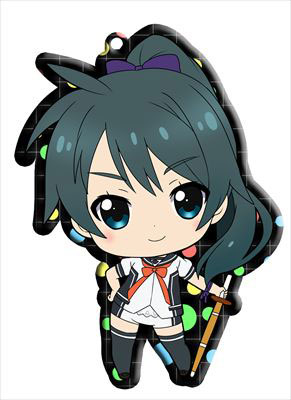 main photo of Vividred Operation Trading Metal Charm Strap: Saegusa Wakaba school uniform ver.