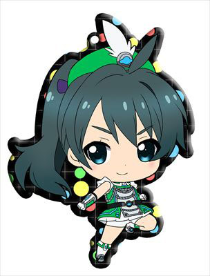main photo of Vividred Operation Trading Metal Charm Strap: Saegusa Wakaba battle uniform ver.