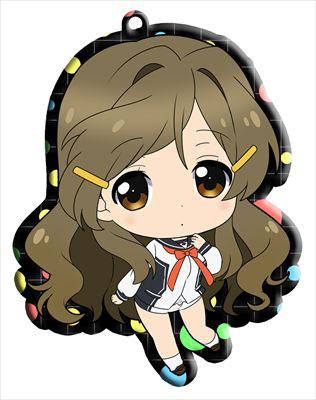 main photo of Vividred Operation Trading Metal Charm Strap: Shinomiya Himawari school uniform ver.
