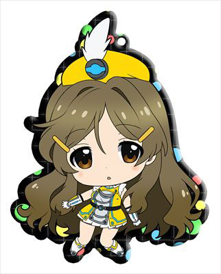 main photo of Vividred Operation Trading Metal Charm Strap: Shinomiya Himawari battle uniform ver.