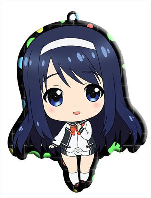 main photo of Vividred Operation Trading Metal Charm Strap: Futaba Aoi school uniform ver.