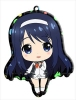 photo of Vividred Operation Trading Metal Charm Strap: Futaba Aoi school uniform ver.
