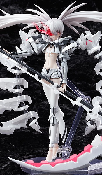 main photo of figma White ★ Rock Shooter
