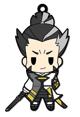 main photo of Sengoku BASARA Rubber Strap Collection Vol.1: Matsunaga Hisahide