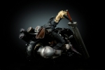 photo of Play Arts Cloud Strife and Fenrir Advent Pieces Ver.