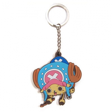main photo of One Piece Tsumamare Pinched Keychain: Tony Tony Chopper