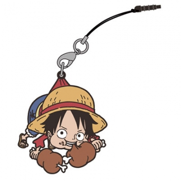 main photo of One Piece Tsumamare Pinched Strap: Luffy