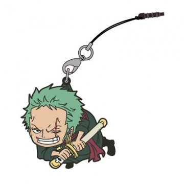 main photo of One Piece Tsumamare Pinched Strap: Zoro