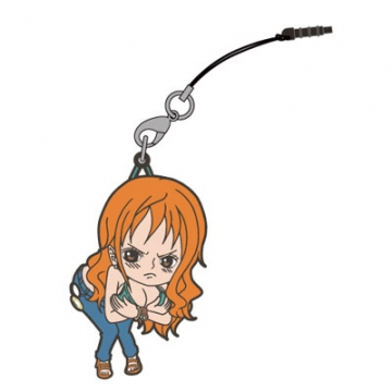 main photo of One Piece Tsumamare Pinched Strap: Nami