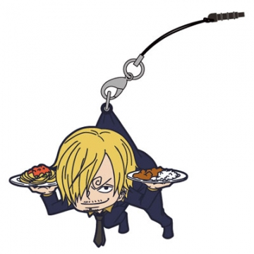 main photo of One Piece Tsumamare Pinched Strap: Sanji